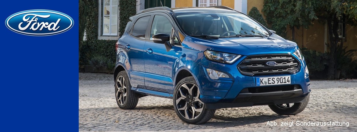 Ford EcoSport | Outdoor. In der Stadt.
